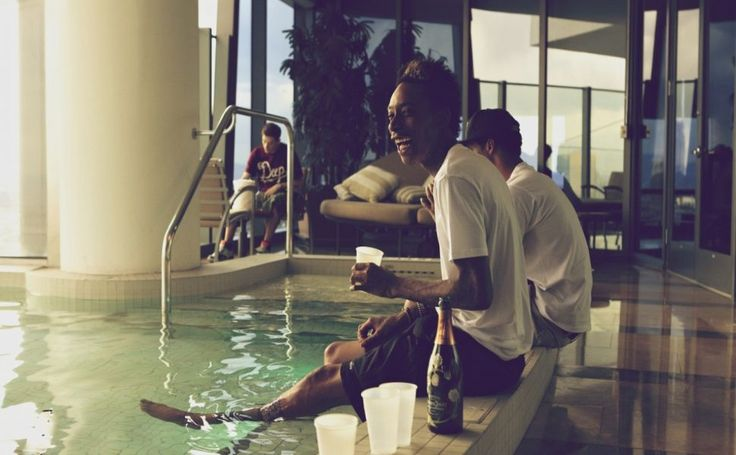 Wiz Khalifa Pool HD Wallpaper