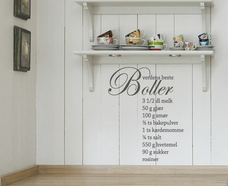Boller - Wallsticker