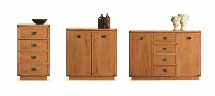 Tip pro dětský pokoj: Kolekce nabízí i samostatné kusy nábytku, ze kterých si složíte třeba vlastní hostinský pokoj.