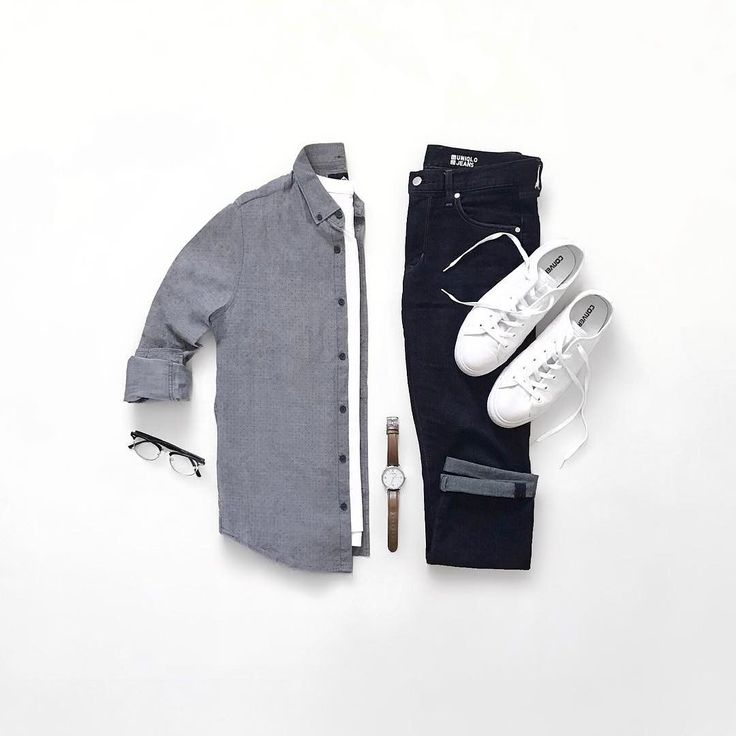 minimal outfit grid for men #mens #fashion #style