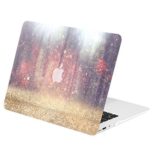 "TOP CASE - Air 13-Inch Autumn Spectrum Graphic Rubberized Hard Case Cover for Macbook Air 13"" Model: A1369 / A1466 - Autumn Air"