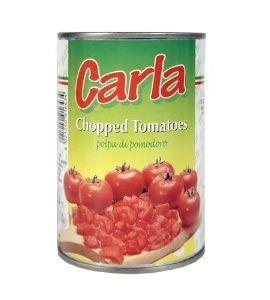 Carla Tomates Concassées: 3000 gr E Poids Brut: 3000 gr  Emballage: Thermo Carton  Date limite de consommation: 36 mois  Ctn/20FCL continent: 1200 cartons