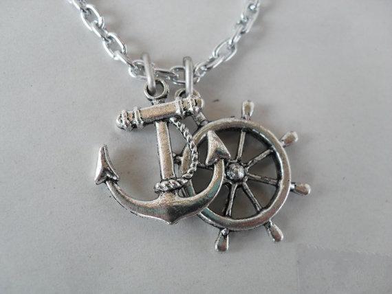 so cutee!: Wheel Necklace, Anchors, Etsy, Wheels, 8 50, Necklaces