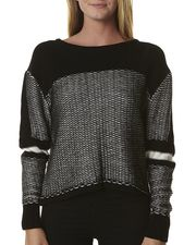 Bless'ed Are The Meek Static Line Knit - Black Ivory WAS $149.95 NOW $104.97 http://www.richgurl.com/linkout/1715598