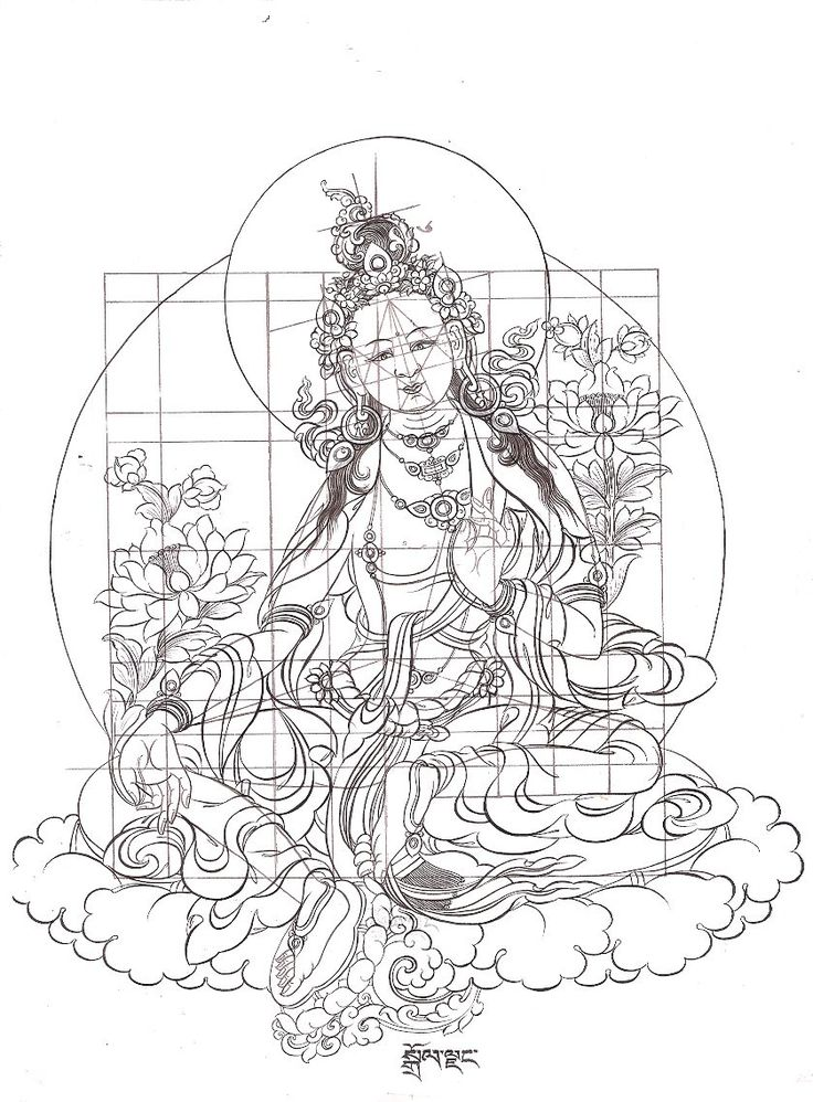 Tibetan Thangka Paintings | Thangka Art Courses | Thangde Gatsal Studio