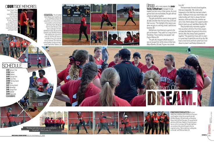 Middleburg High School, Middleburg, Florida/Sports/Softball spread