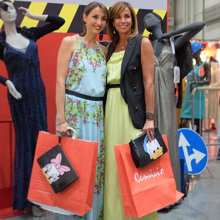 #PINKO #charity #convivio #convivio2014 #anlaids Benedetta and Cristina Parodi