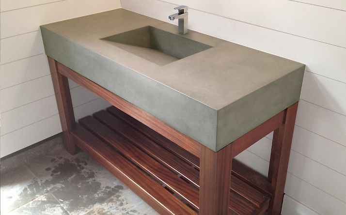 Bathroom Sinks Trueform Concrete