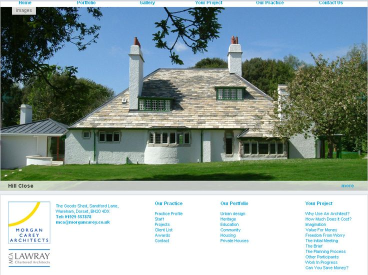 1913 Lodge And Motor House By Voysey Originally A Studiohouse