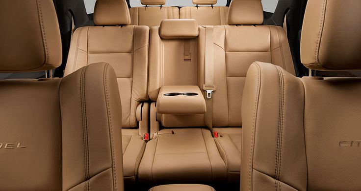 2014 Dodge Durango Citadel comes standard with heated and ventilated front seats and heated second-row seats. Visit http://www.jimclickdodge.com/