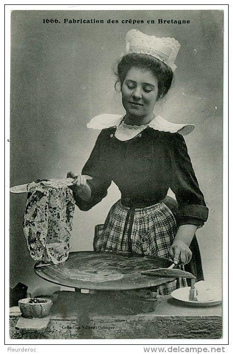 Chandeleur (Delcampe) Carte postale ancienne # Chandeleur # Pancake Day