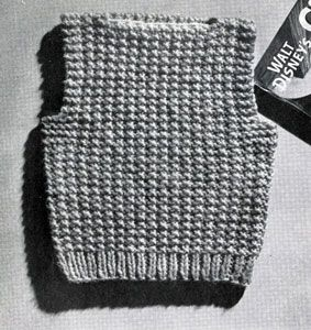 Sleeveless Pullover Pattern