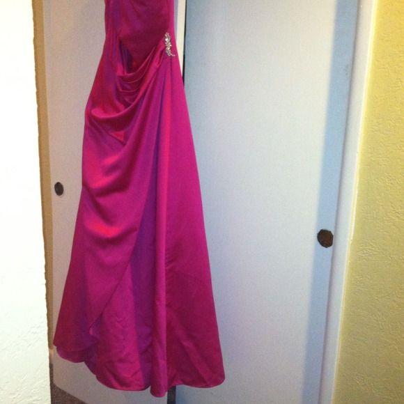 Bridesmaid dress color  begonia Bridesmaid dress/w shaw David's Bridal Dresses