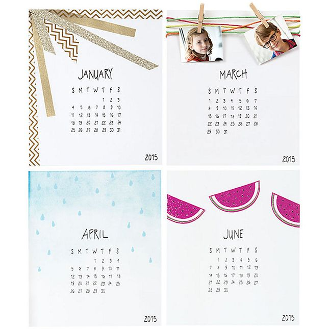 Print each month season on your 2015 calendar, We are here to provide this service. Visit http://www.printearly.com/products/calendars