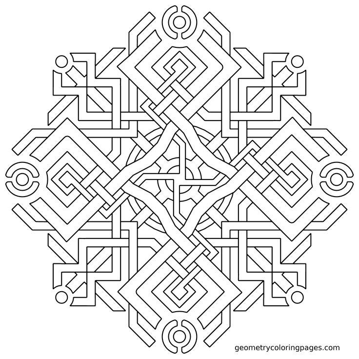 309 best Mandala images on Pinterest Mandalas, Coloring pages and - best of printable coloring pages celtic designs