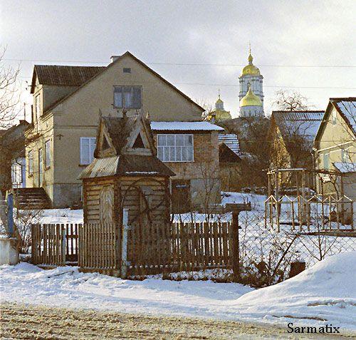 Winter - wonderful Pochaiv, Ukraine.