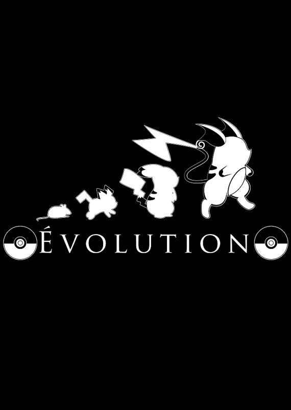 Pokemon Pikachu Evolution Unisex T-shirt by WordPlayPrints on Etsy