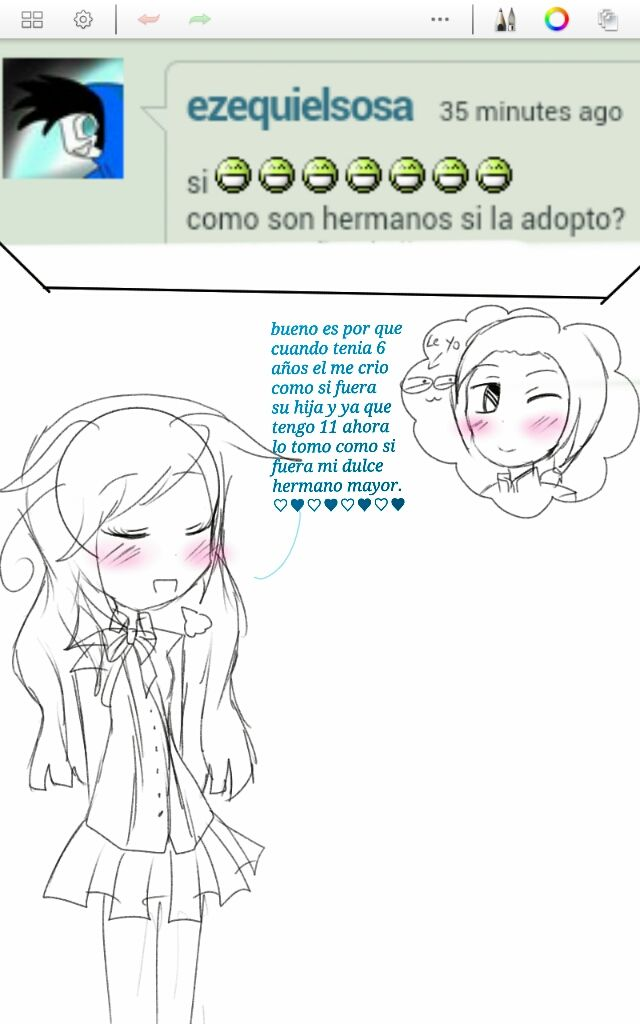 Ask 2 - Como son hermanos si la adopto? by Mirai-Shooker-Hetali on deviantART