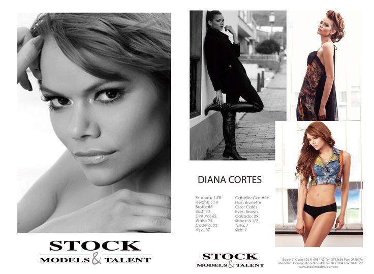 Diana Cort'es - Modelo Stock Models -