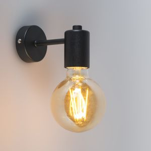 Nástěnné svítidlo Bulb Canno Nero