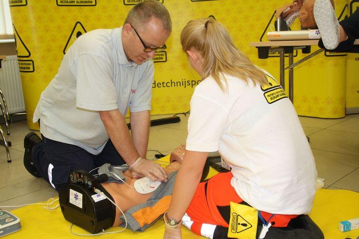 Jeżeli chcesz wysłać pracowników na kurs pierwszej pomocy, możesz zrobić to z nami!