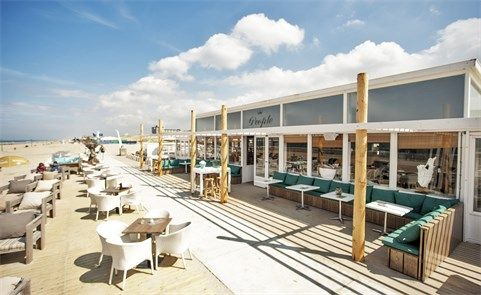 54 beste afbeeldingen over trouwlocaties for Beste strandtent scheveningen