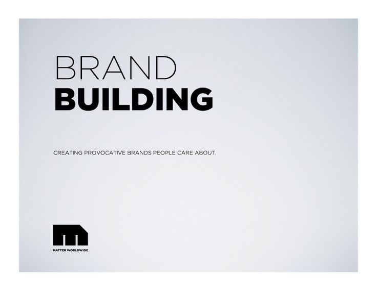 Building A Brand: creating provocative brands that people care about.  From brand architecture to fulfilling emotional needs to the path through purchase this …