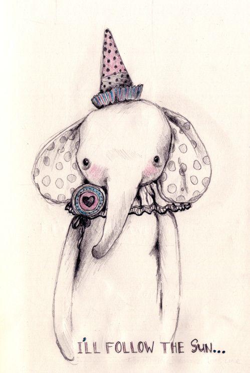 elephantIphone Wallpapers, Parties Animal, Art Birthday, Parties Hats, Elephant Art, Elephant Drawing, Graphics Design, Elephant Parties, Illustration Art