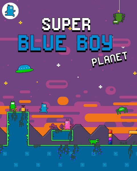Super Blue Boy Planet is an unusual little platform game with some quirky graphics.  You have navigate the levels avoiding obstacles and creepy crawlies. You can jump gaps and also jump on monsters, both destroying them and getting you further in the same move.  Jumping also lets you activate bridges and other objects, something you need to do in order to progress. http://fireflowergames.com/shop/super-blue-boy-planet/