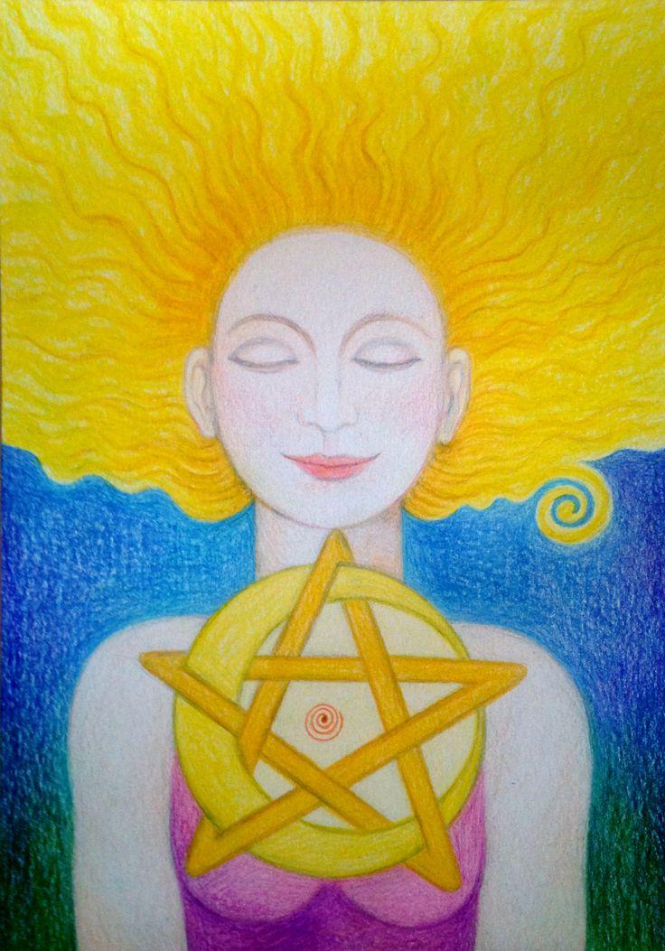 Priestess Oracle by Ivana Axman