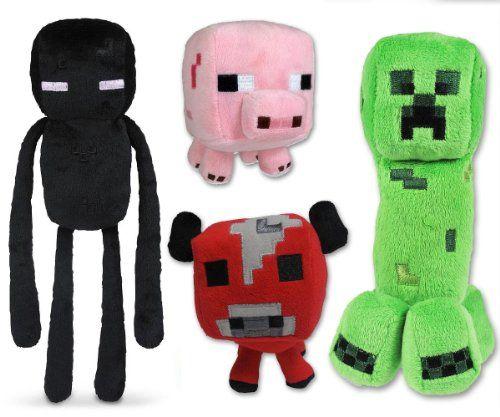 Minecraft Overworld Plush Figure SET - http://geekarmory.com/minecraft-overworld-plush-figure-set/