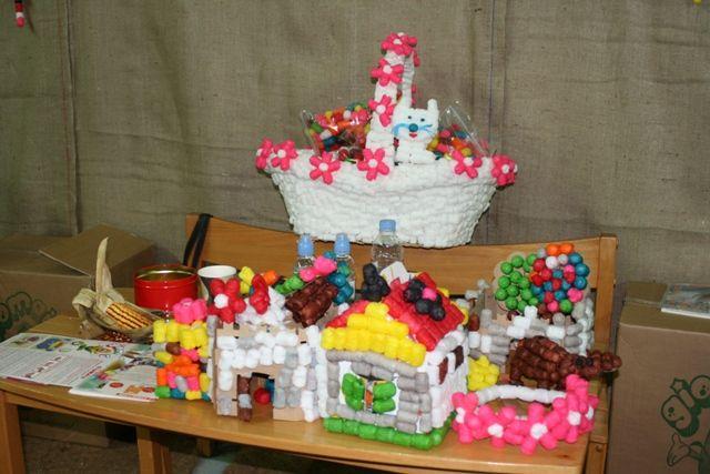 Creations at the fair...