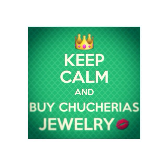 #Keepcalm And buy Chucherias jewelry