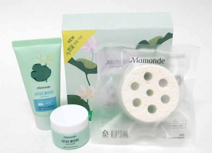 AMOREPACIFIC Mamonde CF model Park Shin-hye Lotus Micro cleansing special kitset #AMOREPACIFICMamonde