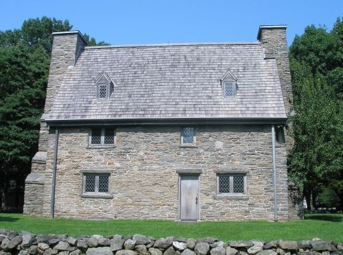 The house in Guilford built in 1639 by Henry Whitfield is the oldest house in Connecticut and the oldest stone house in New England