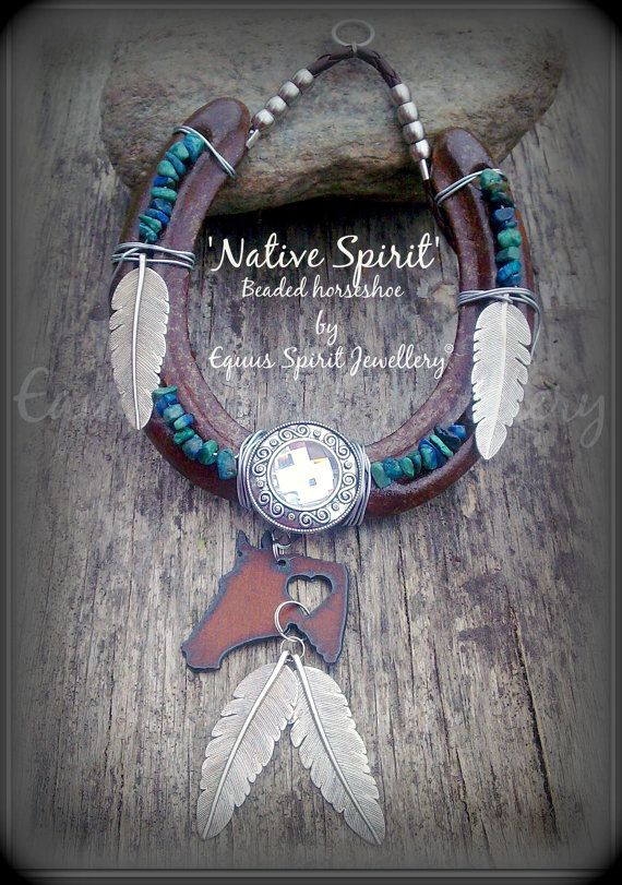 Native Spirit semi precious beaded by EquusSpiritJewellery on Etsy, £25.00