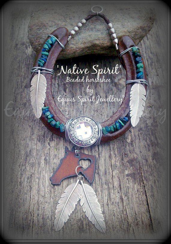 Native Spirit semi precious beaded by EquusSpiritJewellery on Etsy, £25.00