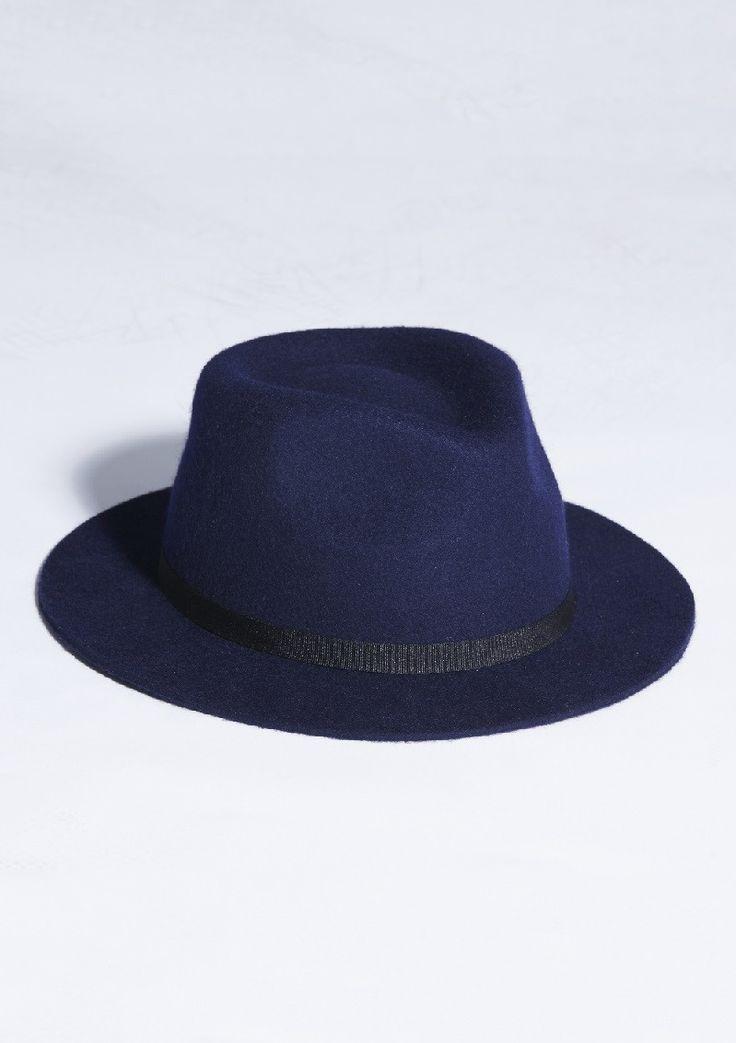 wrangler - Peaches Short Brim Hat Navy