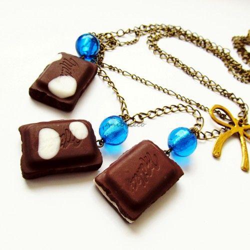 słodki naszyjnik zakupisz w KuferArt