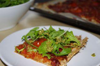 Annes kokebok!: Glutenfri pizza med spekeskinke og ruccola