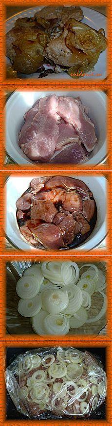 Свинина в соевом соусе в пакете для запекания | Снедание