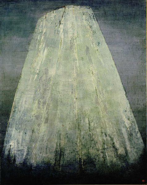 "ANNA-EVA BERGMAN, ""LARGE SILVER MOUNTAIN"" (N ° 4-1957 GRANDE MONTAGNE D'ARGENT), 1957"