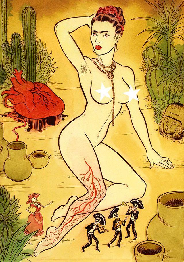 Koren Shadmi | To Die For | Frida Kahlo