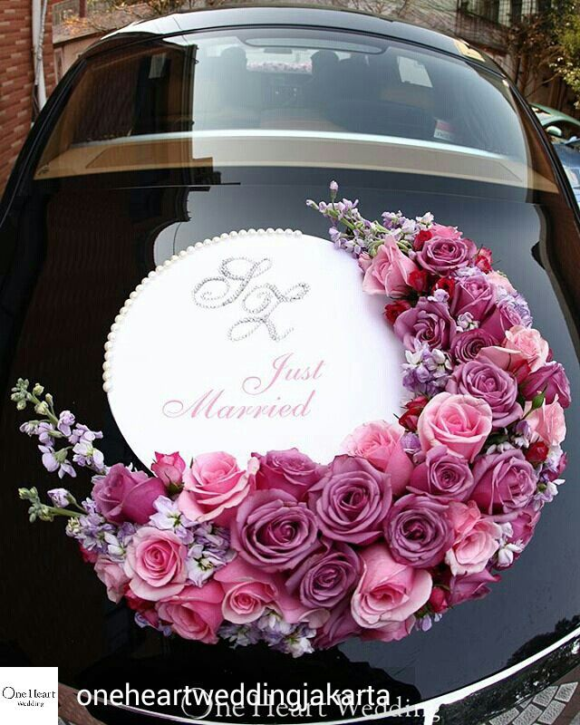 Flower Wedding Car Decorations : Wraps for cars car decorating and wedding decoration