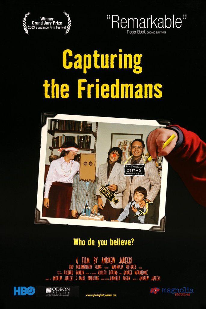 Capturing the Friedmans (2003) Original One-Sheet Movie Poster