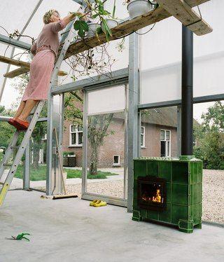 Tilestove Big by Weltevree | Dick van Hoff | Royal Tichelaar Makkum | A contemporary version of the traditional tile stove
