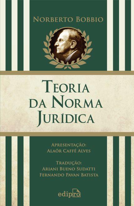 [Saraiva] Livro: Teoria da Norma Jurídica - Norberto Bobbio - R$ 12,90