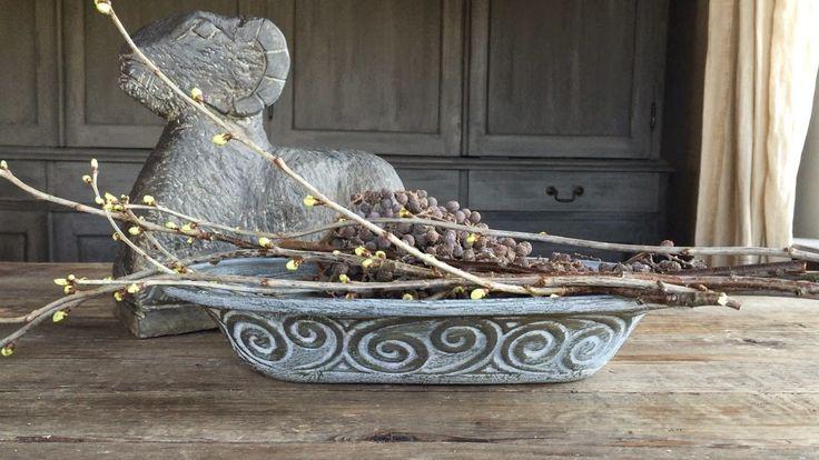 Onder de beuk diy oude schalen van r mertopf vintage pinterest diy and crafts and van for Deco oude huis