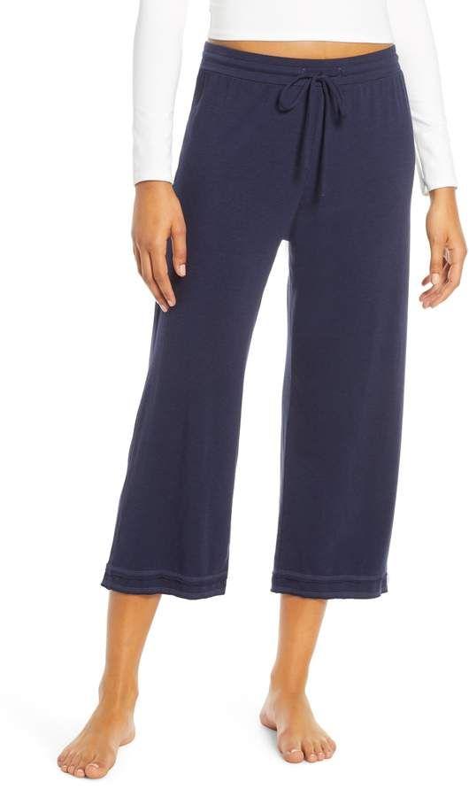 Kadın Bakkaliye Kıyafetleri Lara Adım Paça Kırpma Pantolon, Büyük Beden – Mavi