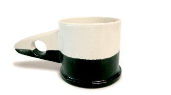 Mug White × Black | Echo Park Pottery